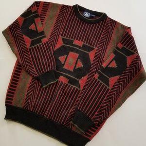 Vintage | Ugly Sweater Acrylic 1980s/90s Crewneck
